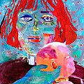 Madonna And Child by Diane Fine