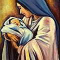 Madonna And Child by Sheila Diemert