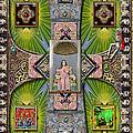 Madonna of Valladolid Mexico Print by Ron Morecraft