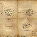 Magneto System Blueprint by James Christopher Hill