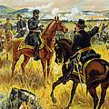 Major General George Meade At The Battle Of Gettysburg by Henry Alexander Ogden
