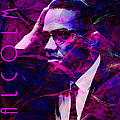 Malcolm X 20140105m88 With Text by Wingsdomain Art and Photography