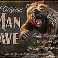 Man Cave Grizzly by JQ Licensing