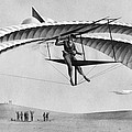 Man Gliding In 1883 by Underwood Archives