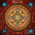 Mandala Arabia Print by Bedros Awak