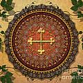 Mandala Armenian Cross Sp by Bedros Awak