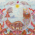 Mandala Atlanits by Lida Bruinen