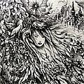 Mandee's Dream Print by Rachel Christine Nowicki