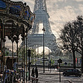 Manege Parisienne by Joachim G Pinkawa