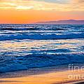 Manhattan Beach Sunset by Inge Johnsson