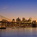 Manhattan Brooklyn Bridge by Melanie Viola