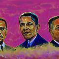 M.a.n...malcolm- Obama- Martin by Tommy  Winn