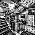 Mansion Stairway V2 by Adrian Evans