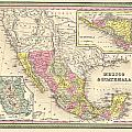 Map Of Mexico by Gary Grayson