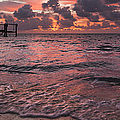 Marathon Key Sunrise Panoramic by Adam Romanowicz