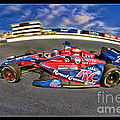 Marco Andretti by Blake Richards