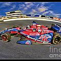 Marco Andretti Print by Blake Richards