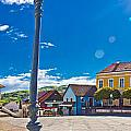 Marija Bistrica Square Colorful Panorama by Brch Photography