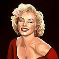 Marilyn Monroe 3 Print by Paul  Meijering