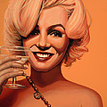 Marilyn Monroe 5 Print by Paul  Meijering