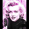 Marilyn Monroe - Pink by Absinthe Art By Michelle LeAnn Scott