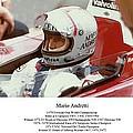 Mario Andretti by Don Struke