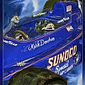 Mark Donohue 1972 Indy 500 Winning Car Print by Blake Richards