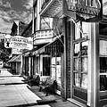 Mark Twain's Town Bw by Mel Steinhauer