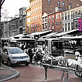 Market Street In Old City by Eric Nagy