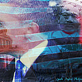 Martin And Obama by Lynda Payton