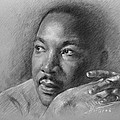 Martin Luther King Jr by Ylli Haruni