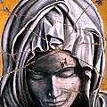 Mary Super Petram - Study No. 1 by Steve Bogdanoff
