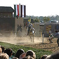Maryland Renaissance Festival - Jousting And Sword Fighting - 1212174 by DC Photographer