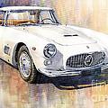 Maserati 3500GT Coupe Print by Yuriy  Shevchuk