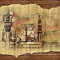 Masjid E Nabwi Sketch by Catf