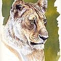 Massai Queen by Aaron Blaise