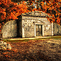 mausoleum Print by Bob Orsillo