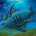 Mechanical Fish 4 by David Kyte