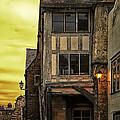 Medieval Alley by Gabriela Wernicke-Marfo