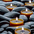 Meditation Candles by Olivier Le Queinec