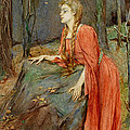 Melisande by Henry Meynell Rheam