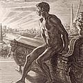 Memnon's Statue by Bernard Picart