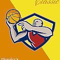 Memorial Day Basketball Classic Poster by Aloysius Patrimonio
