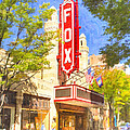 Memories Of The Fox Theatre by Mark E Tisdale