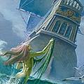 Mermaid Seen By One Of Henry Hudson's Crew by Severino Baraldi