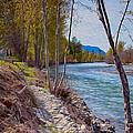 Methow River Coming From Mazama by Omaste Witkowski