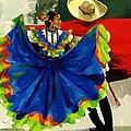Mexican Dancers by Elisabeta Hermann