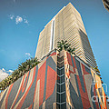 Miami Downtown Buildings - Miami - Florida by Ian Monk