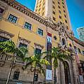 Miami Freedom Tower 1 - Miami - Florida Print by Ian Monk