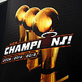 Miami Heat Aaa Championship Banner by J Anthony